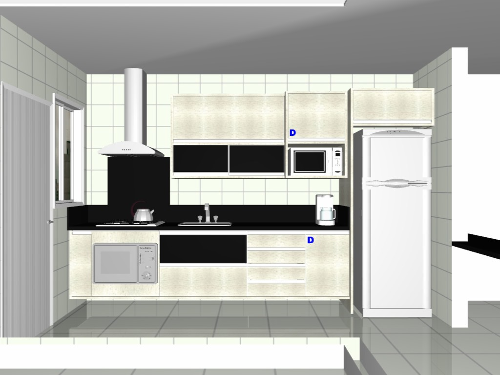 Ideias para a cozinha Diário do Apê Página: 2 #1818B4 1024 768